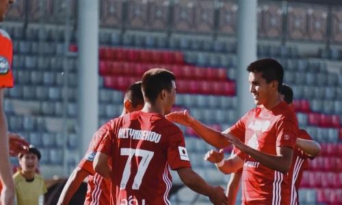 «Байконур» разгромил «Академию Оңтүстік» в матче Первой лиги