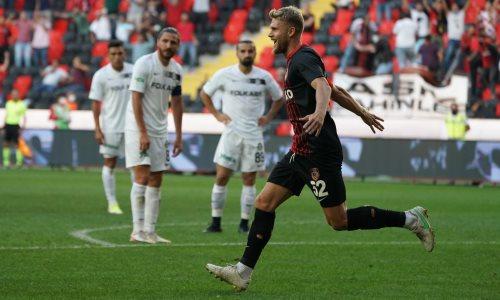 Казахстанский футболист забил дебютный гол в чемпионате Турции. Его клуб громит соперника