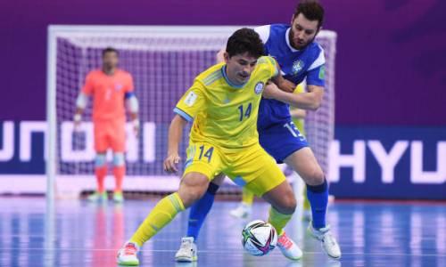 Видео обидного поражения сборной Казахстана в матче за «бронзу» чемпионата мира-2021 по футзалу