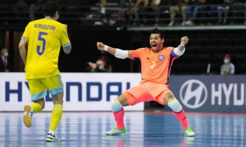 Видеообзор матча Бразилия — Казахстан за «бронзу» ЧМ-2021 по футзалу