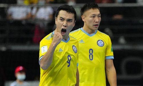 Фоторепортаж с матча Бразилия — Казахстан за «бронзу» ЧМ-2021 по футзалу