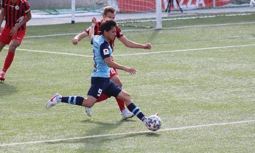 Фоторепортаж с матча Премьер-Лиги «Каспий» — «Кызыл-Жар СК» 1:2
