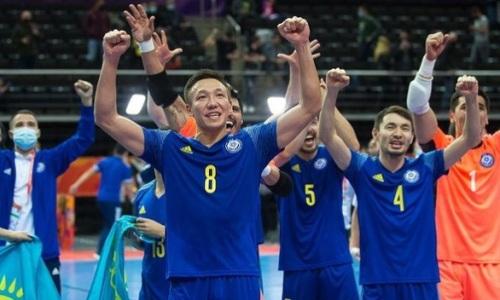 «Мы грызли каждый сантиметр». Игрок сборной Казахстана с травмой провел матч против Бразилии
