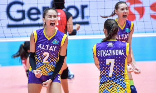 «Алтай» одержал третью победу на клубном чемпионате Азии