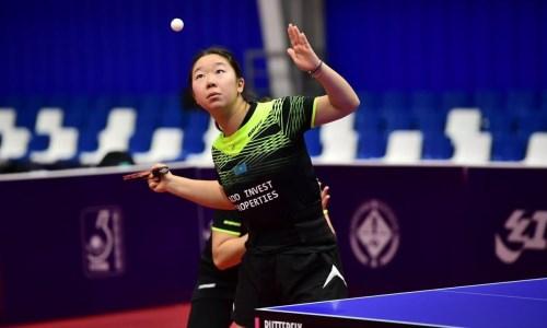 Казахстанцы завершили выступления на чемпионате Азии по настольному теннису