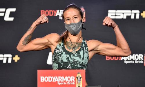 «Её уровень значительно выше». Первая казахстанка в UFC намерена составить конкуренцию Валентине Шевченко