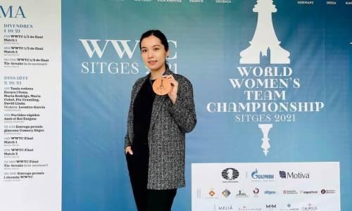 Казахстан взял две «бронзы» на командном чемпионате мира среди женщин