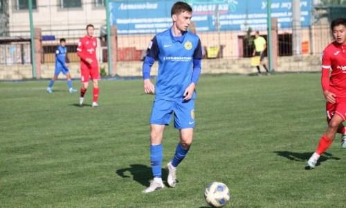 Бывший футболист молодежной сборной Казахстана признан игроком матча зарубежного чемпионата. Фото