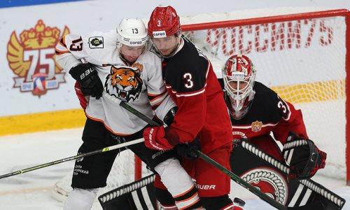Клуб КХЛ выиграл по буллитам и вытеснил «Барыс» из зоны плей-офф