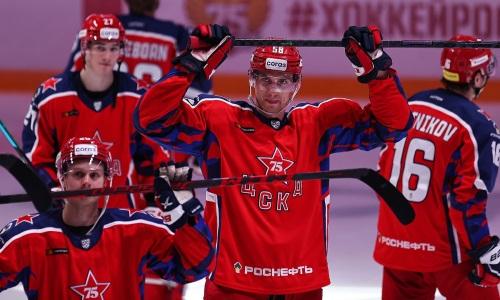 Хоккеист сборной Казахстана помог топ-клубу одержать разгромную победу в КХЛ. Видео
