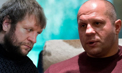 Федор Емельяненко однозначно ответил на вопрос о его бое с братом Александром