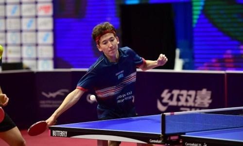 «Выполнили сразу две цели». Казахстанец подвел итоги выступления на чемпионате Азии по настольному теннису