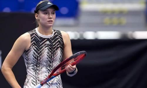Елену Рыбакину ждут на двух крупных турнирах после травмы в Чикаго
