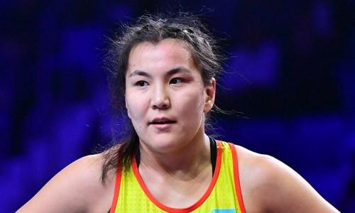 Призерка ОИ-2016 из Казахстана по борьбе проиграла на старте чемпионата мира-2021