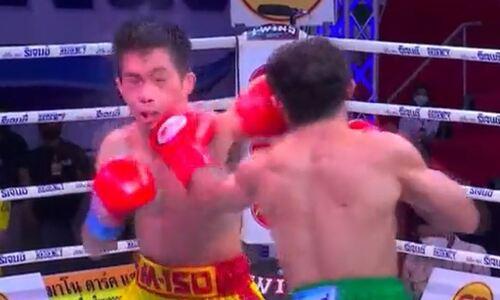 Небитый чемпион жестко остановил претендента и в девятый раз защитил пояс WBA. Видео