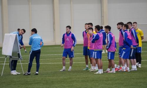 Объявлен состав молодежной сборной Казахстана на матчи с Бельгией и Турцией