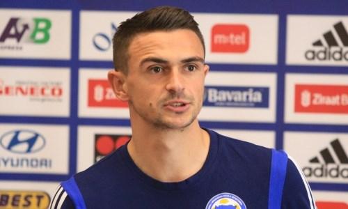 «Я считаю, что мы лучше». Форвард сборной Боснии и Герцеговины высказался о матче с Казахстаном