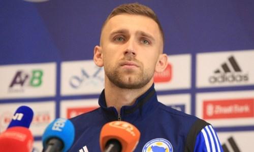 Защитник сборной Боснии и Герцеговины поделился ожиданиями от матча с Казахстаном