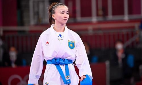 «Не повторила ошибки из Токио». Казахстанская каратистка объяснила победу на этапе Премьер-лиги в Москве