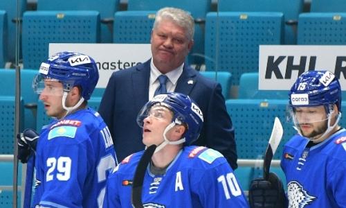 «Барыс» перед матчем с «Авангардом» ухудшил свою позицию в таблице Востока КХЛ
