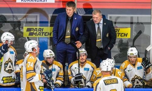 Казахстанский клуб заявил о травмах сразу двух хоккеистов