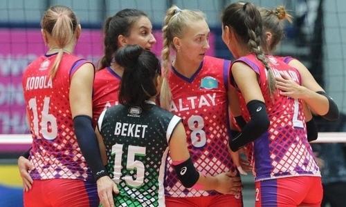 Казахстанский клуб прошел в финал чемпионата Азии среди женщин