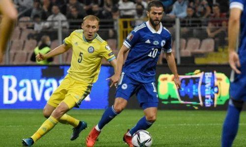 Во сколько сборная Казахстана сыграет с Боснией и Герцеговиной в отборе на ЧМ-2022