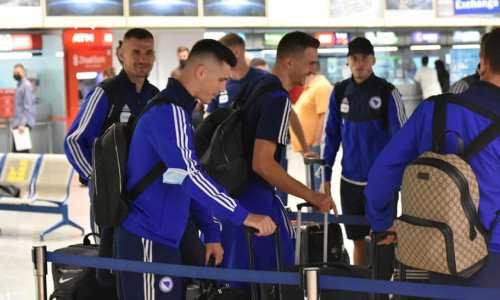 Сборная Боснии и Герцеговины отправилась в Казахстан на матч отбора ЧМ-2022. Фото