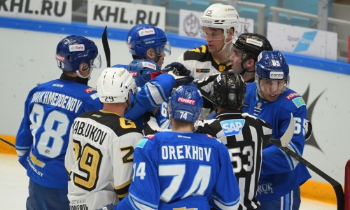 «Барыс» победил «Авангард» в скандальном матче КХЛ с местью Михайлиса
