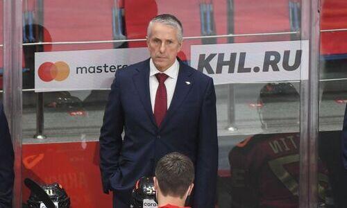 «Это была наша лучшая игра». Наставник «Авангарда» объяснил поражение «Барысу» и остался доволен своими хоккеистами