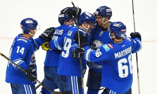 «Барыс» после победы над «Авангардом» совершил рывок в таблице Востока КХЛ
