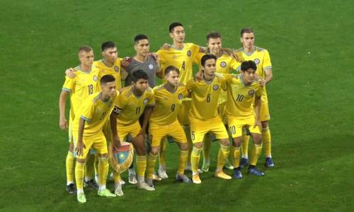 Юношеская сборная Казахстана сразгрома стартовала вотборе ЕВРО-2022