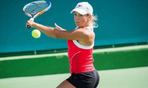 В Индиан-Уэллс состоится дуэль лучших казахстанских теннисисток