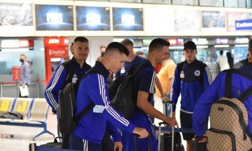 Сборная Боснии и Герцеговины прибыла в Нур-Султан на матч с Казахстаном