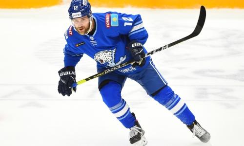 Новичок «Барыса» провел 100-й матч в КХЛ