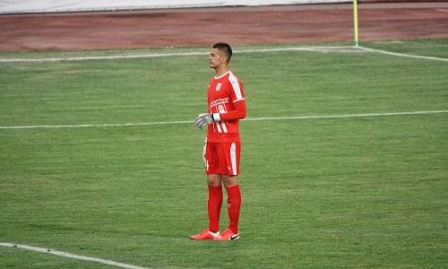 Голкипер «Тараза» сыграл 50 матчей в Премьер-Лиге