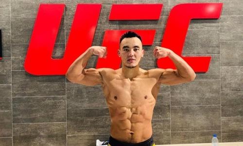 Казах из UFC получил в соперники американца