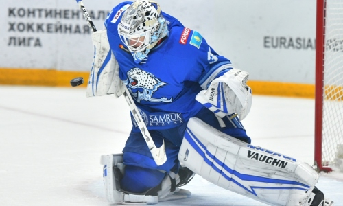 «Засушил игру». КХЛ отметила достижение «Барыса» и его героя в матче с «Авангардом»