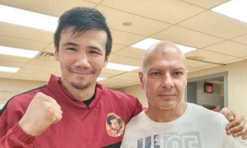 Казахстанский боксер показал процесс весогонки перед дебютным боем в США. Видео
