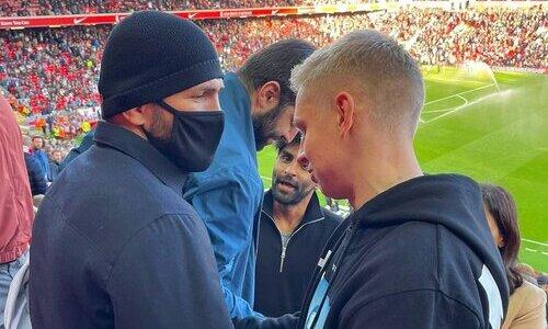Хабиб обратился к лидеру сборной Украины по поводу хейта из-за совместного фото
