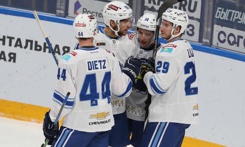 Хоккеисты «Барыса» и сборной Казахстана захватили ТОП-10 самых сильных бросков в КХЛ. Видео