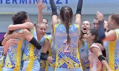 Казахстанский волейбольный клуб стал чемпионом Азии