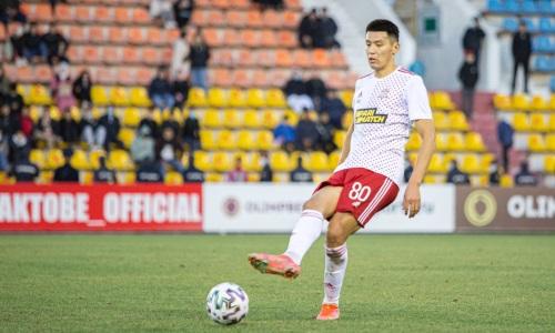 Защитник сборной Казахстана забил 10-й мяч в Премьер-Лиге