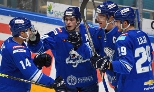 Прямая трансляция матча КХЛ «Барыс» — СКА