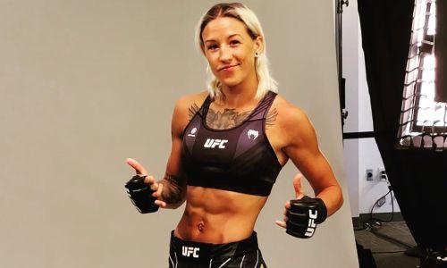 Прямая трансляция третьего боя казахстанки Марии Агаповой в UFC
