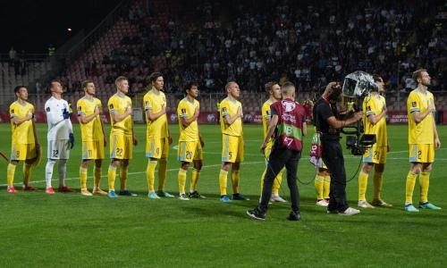 Прямая трансляция матча Казахстан — Босния и Герцеговина в отборе на ЧМ-2022