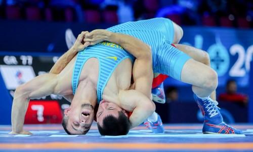 Два казахстанца вышли в утешительный раунд чемпионата мира по греко-римской борьбе