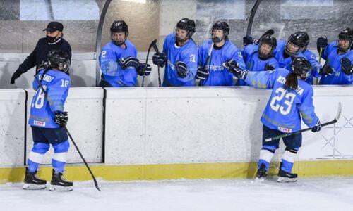 С разгромной победы и лидерства в группе стартовала женская сборная Казахстана в квалификации к Олимпиаде-2022