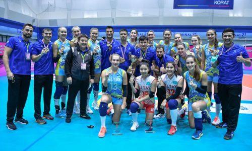 Игроки казахстанского волейбольного клуба признаны лучшими на чемпионате Азии