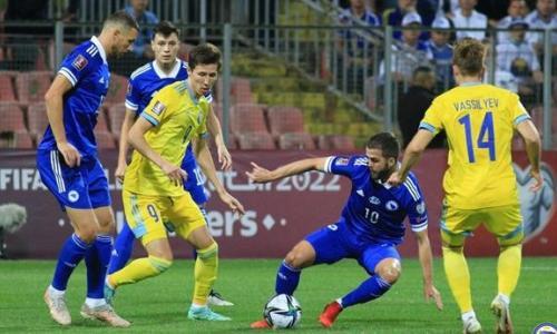 Назван победитель матча Казахстан — Босния и Герцеговина в отборе на ЧМ-2022